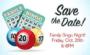 2017 Bingo Night is Friday, October 20th, 6-8pm