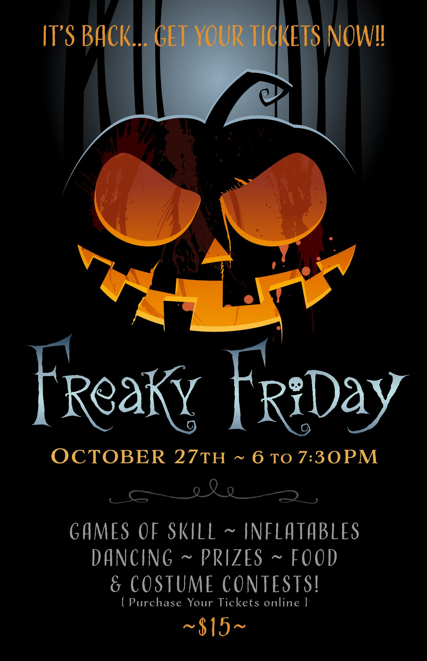 Sign up here for Freaky Friday!